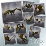 Lifezy: Poses of Wyvern2: Pack #1