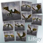 Lifezy: Poses of Wyvern2: Pack #2