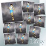 Lifezy: Terai Yuki 2 Poses 3