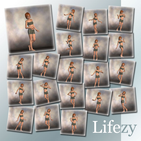 Lifezy: 90 Poses of Laura