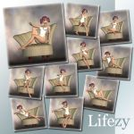 Lifezy: Harpback Chair Poses of Aiko