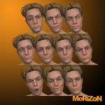 MRZ: Luke Expression Faces