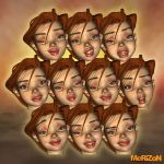 MRZ: The Girl Expressions