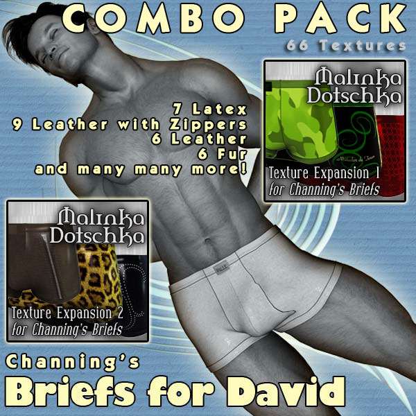 !Briefs for David Combo Pack