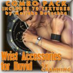 !Wrist Accessories for David Combo Pack