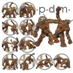 Pdm: Troll Comic Action Poses 1