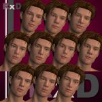 RxD: David Character Faces 1