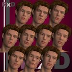 RxD: David Character Faces 2