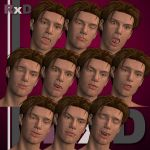 RxD: David Expression Faces