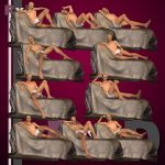 RxD: James Drape Chaise Poses