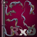 RxD: Eastern Dragon Poses 1