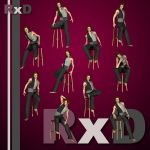 RxD: G2 Males Stool Poses