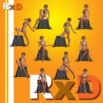 RoxieDee (RxD): A4 PSP Poses 2