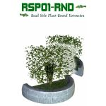 Road Side Plant Round End Extension
