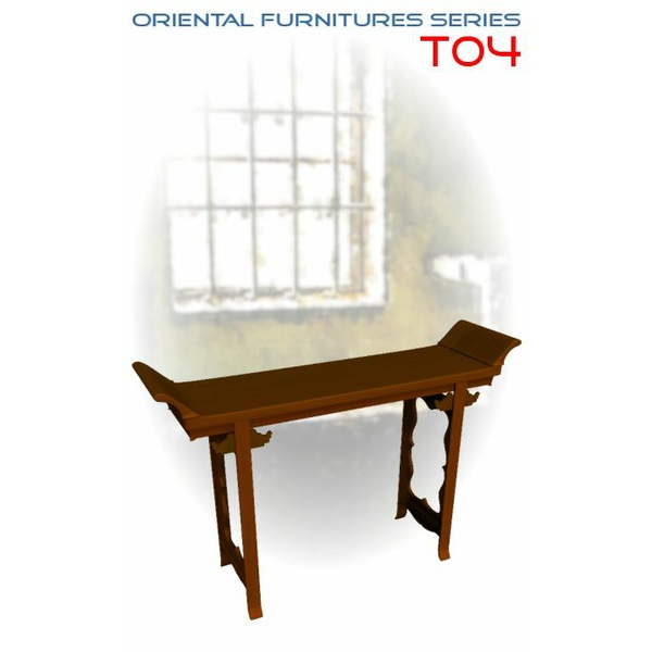 Oriental Furniture Series: T04