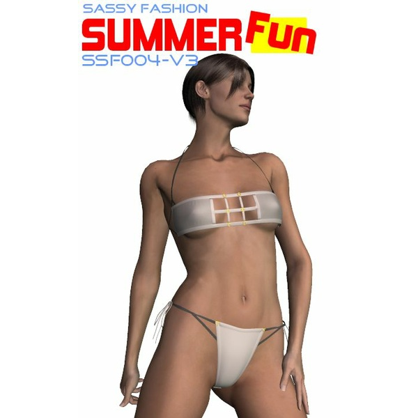 Sassy Fashion: Summer Fun SSF004 for V3
