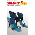 Sassy Fashion: Summer Shoes SS003 for V3
