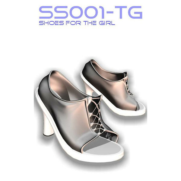 Sassy Fashion: Summer Shoes SS001 for The GIRL