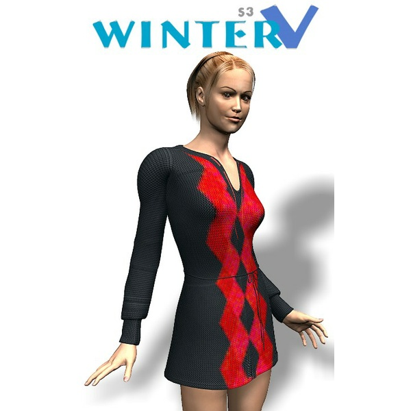 Sassy Fashion: Winter V for SP3