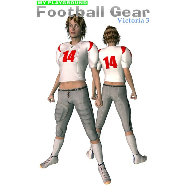 My Playground: Football Gear for V3