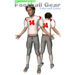 My Playground: Football Gear for Luke and Laura