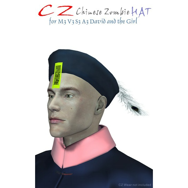 CZ Chinese Zombie Hat for Michael 3
