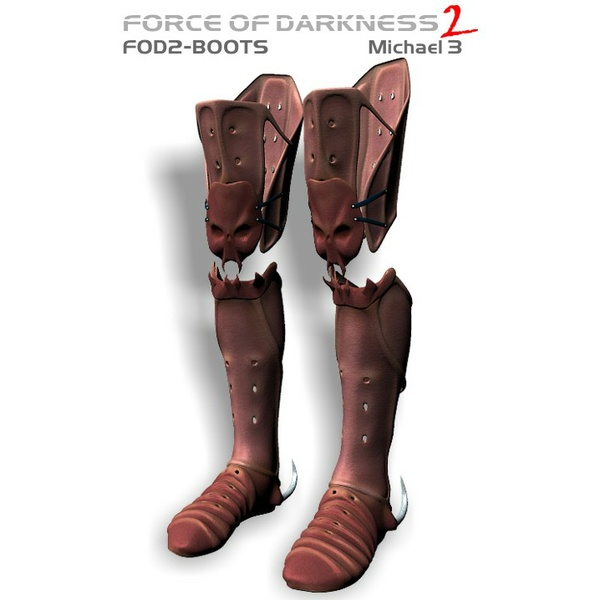 Force of Darkness: FOD2 Boots for Michael 3