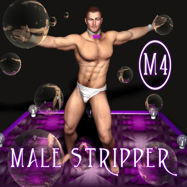 Virtual man stripper
