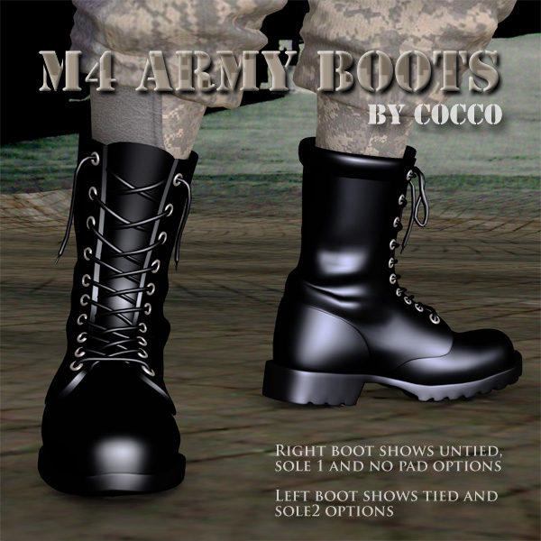 M4 Army Boots