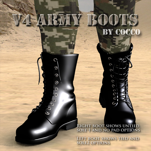 V4 Army Boots