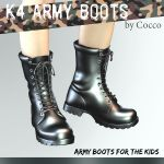 K4 Army Boots