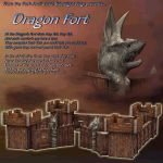 Dragon Fort for Poser 4++