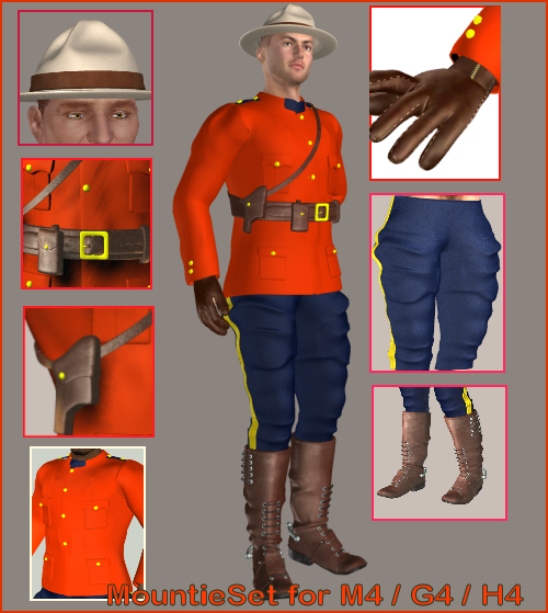 Mountie for M4