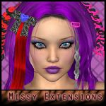 Missy Hair Extensions & Accessories for V4